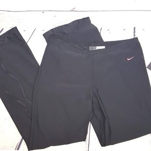 Nike Dri Fit Running Pants with Tie Back Calf